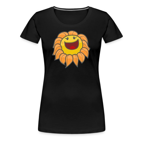 Happy sunflower - Women's Premium T-Shirt