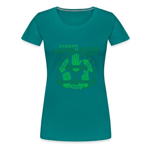 Hand to Hand Combat - Women's Premium T-Shirt