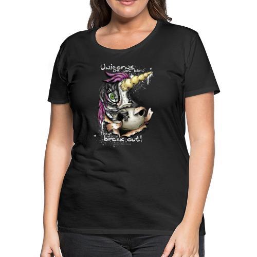 unicorn breakout - Women's Premium T-Shirt