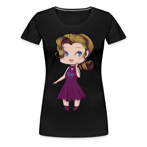 Anime Chibi Girl - Women's Premium T-Shirt