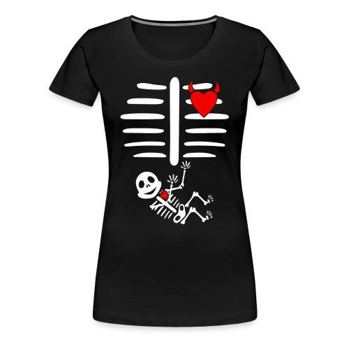 Halloween Pregnancy - Women's Premium T-Shirt