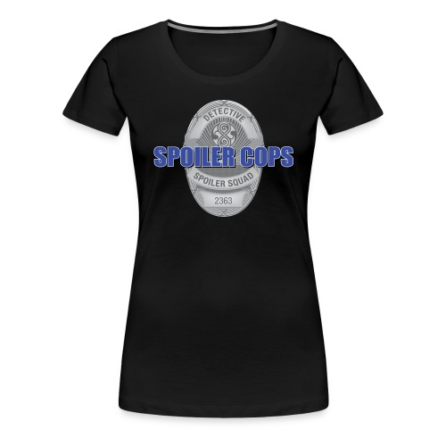 spoilercops silver - Women's Premium T-Shirt
