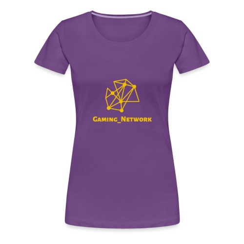 gaming network gold - Women's Premium T-Shirt