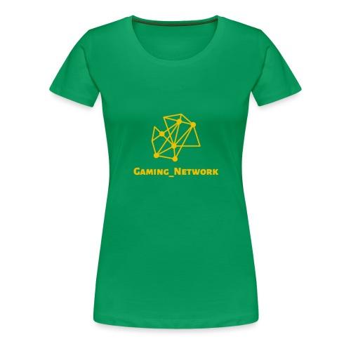 gaming network gold - Women's Premium T-Shirt