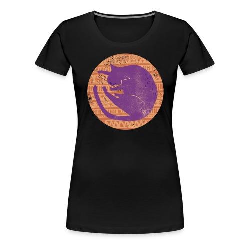 Cat on a Pillow Tamar D - Women's Premium T-Shirt
