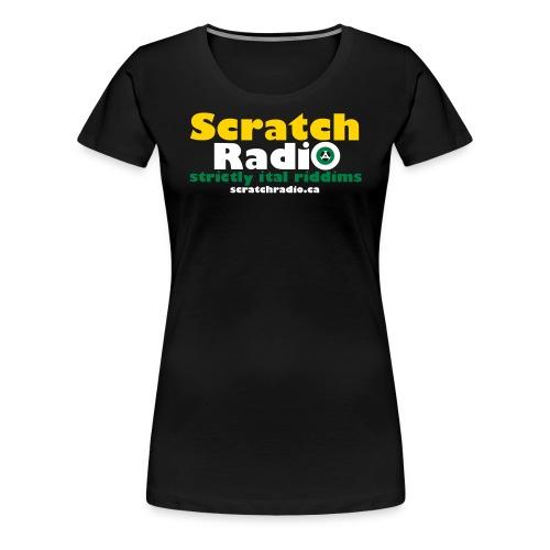 logo with url 3c - Women's Premium T-Shirt