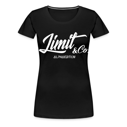 White T-Shirt Alpha Edition 2.0 (Women) - Women's Premium T-Shirt