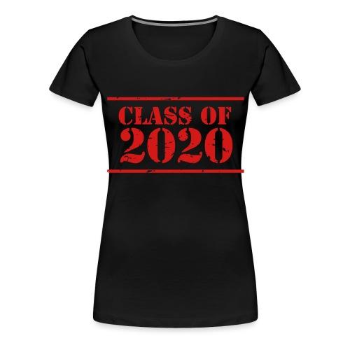 Class of 2020 stencil - Women's Premium T-Shirt