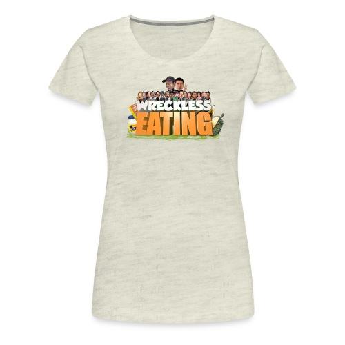 Wreckless Eating Cast Shirt 2015 png - Women's Premium T-Shirt