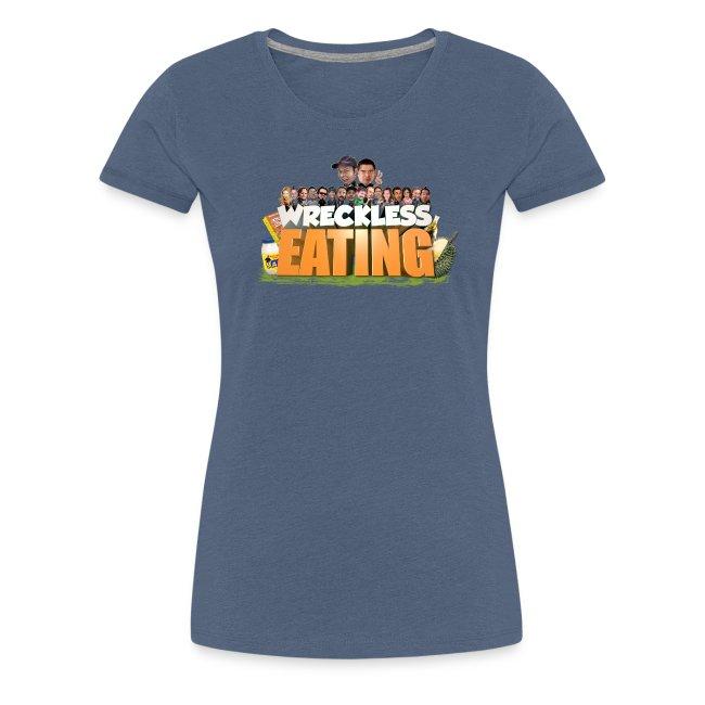 Wreckless Eating Cast Shirt 2015 png