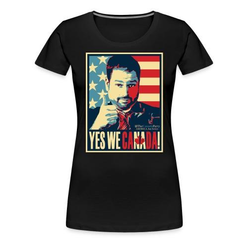 yeswecan - Women's Premium T-Shirt