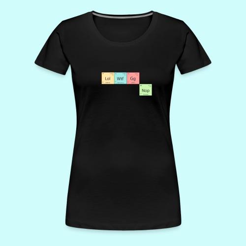 Modern Chemistry - Women's Premium T-Shirt