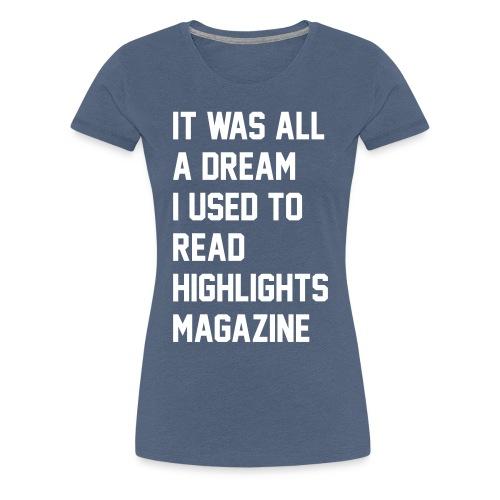 JUICY 1 - Women's Premium T-Shirt
