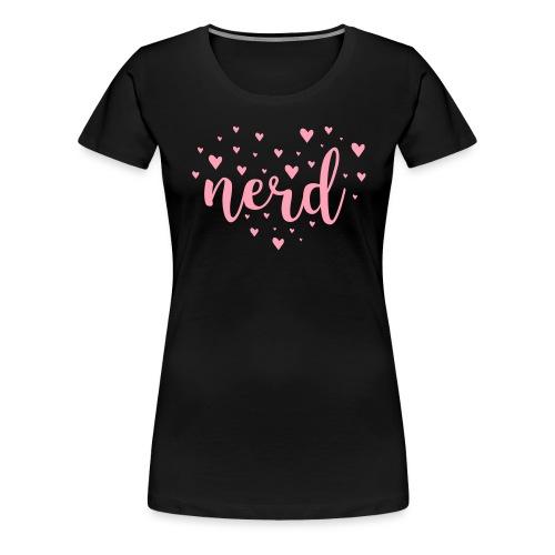 Inverted heart nerd - Women's Premium T-Shirt