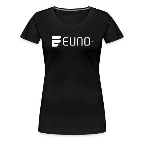 EUNO LOGO LANDSCAPE WHITE - Women's Premium T-Shirt
