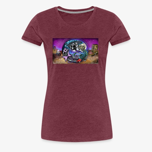 Mother CreepyPasta Land - Women's Premium T-Shirt