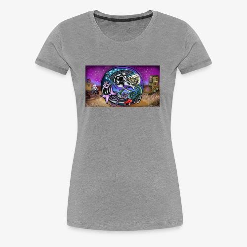 Mother CreepyPasta Land - Women's Premium T-Shirt