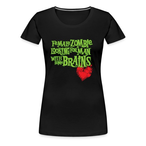Zombie Woman's Personal Ad - Women's Premium T-Shirt