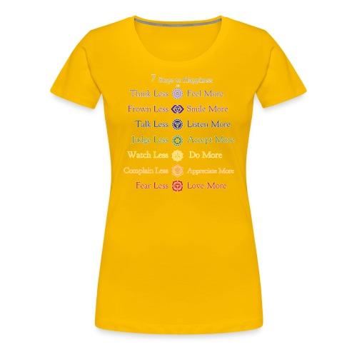 7steps - Women's Premium T-Shirt