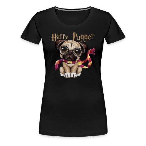 Harry Pugger Best Gift for pug lovers - Women's Premium T-Shirt