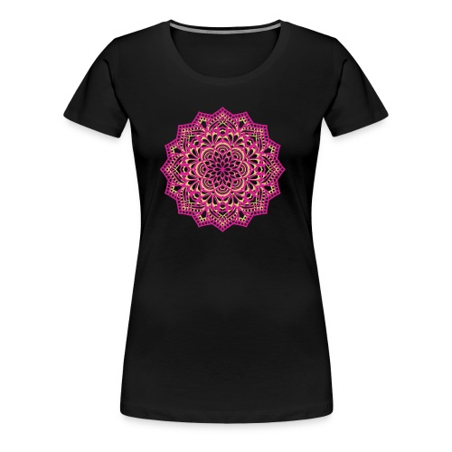 mandala Design - Women's Premium T-Shirt