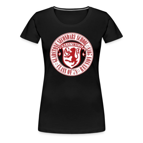 Gladstone White Circle - Women's Premium T-Shirt