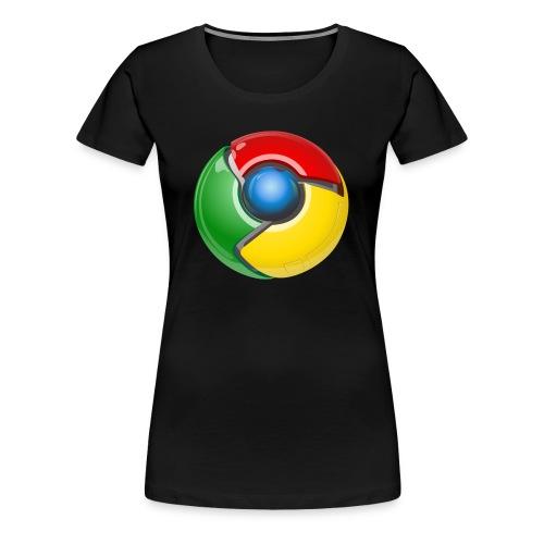 Google chrome logo - Women's Premium T-Shirt