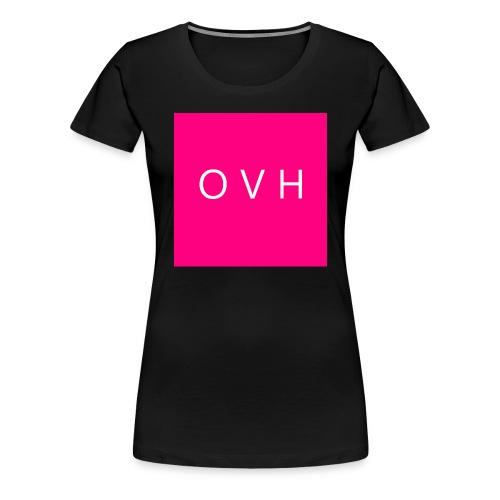 O V H - Women's Premium T-Shirt