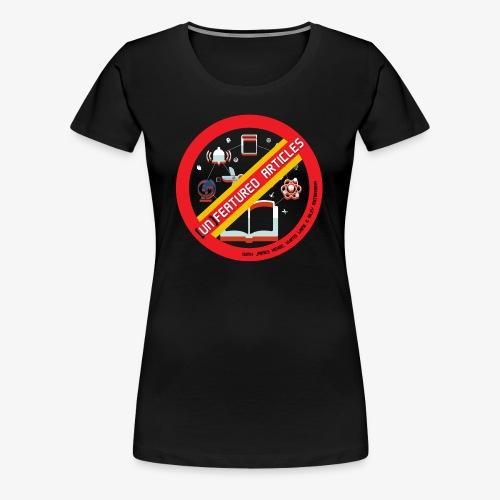 unFeatured Articles Logo - Women's Premium T-Shirt