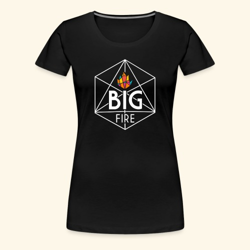 BiG Fire 2018 White - Women's Premium T-Shirt