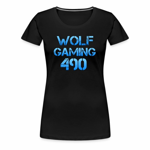 Wolfgaming490 Logo - Women's Premium T-Shirt