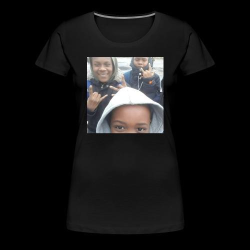 CoverMaker 1516981025383 - Women's Premium T-Shirt