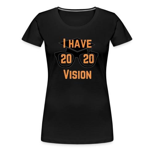 Class of 2020 Vision - Women's Premium T-Shirt