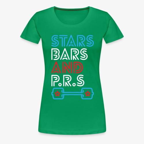 Stars, Bars And PRs - Women's Premium T-Shirt