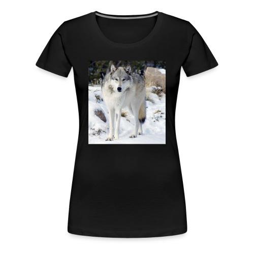Canis lupus occidentalis - Women's Premium T-Shirt