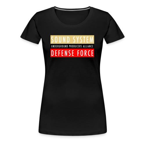 UPA Sound System Defense Force - Women's Premium T-Shirt
