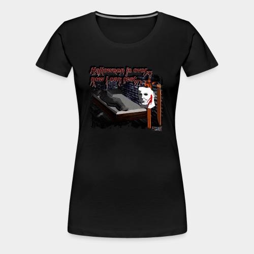 Halloween is over store - Women's Premium T-Shirt