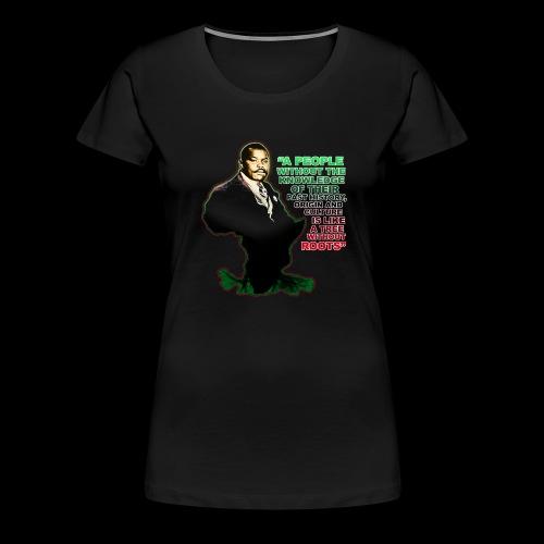 Marcus Garvey Afrika - Women's Premium T-Shirt