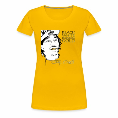 Carl Lovett Lauderdale Gold - Women's Premium T-Shirt