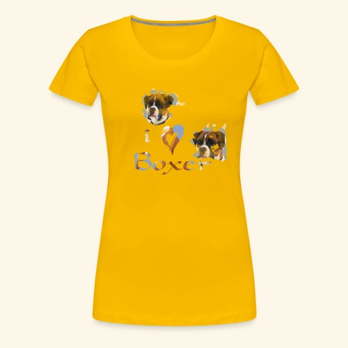 Boxer - Women's Premium T-Shirt
