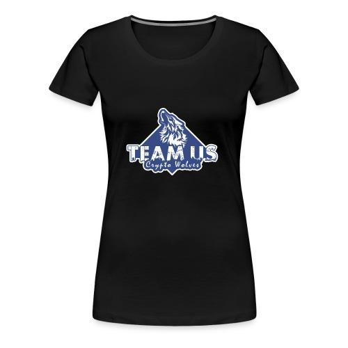 Team Us - Crypto Wolves - Women's Premium T-Shirt