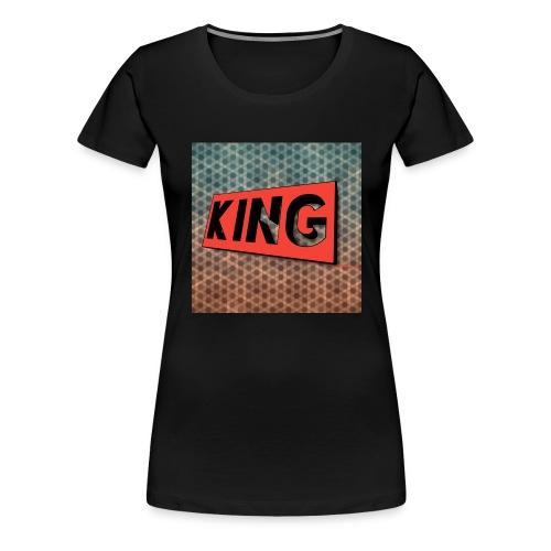 kingcreeper7972 logo - Women's Premium T-Shirt
