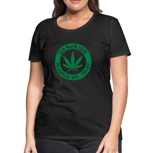 Ganjaism Classic - Women's Premium T-Shirt