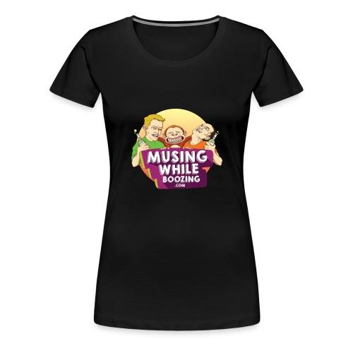 Musing While Boozing - Women's Premium T-Shirt