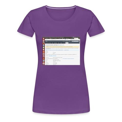 Screenshot from 2016 09 07 02 14 53 - Women's Premium T-Shirt