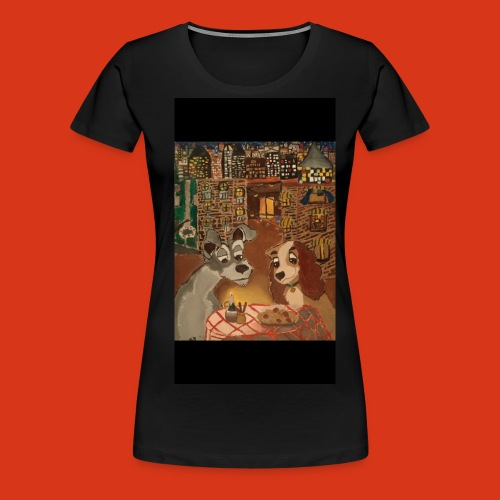 Lady and the tramp - Women's Premium T-Shirt