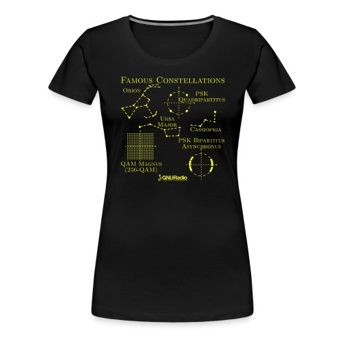 Famous Constellations - Women's Premium T-Shirt