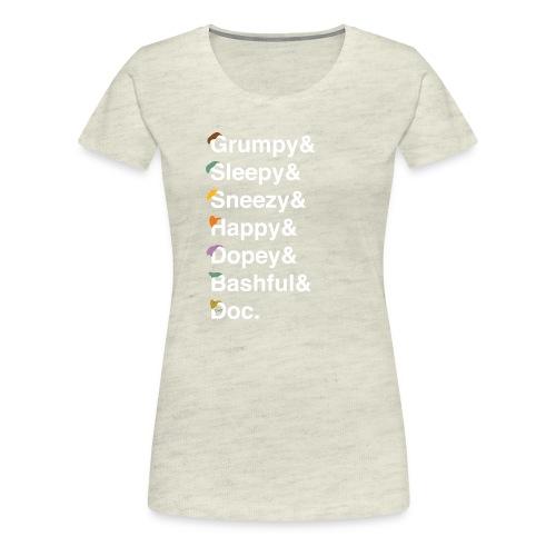 dwarfswhite - Women's Premium T-Shirt