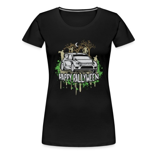 Rally Car Halloween - Women's Premium T-Shirt