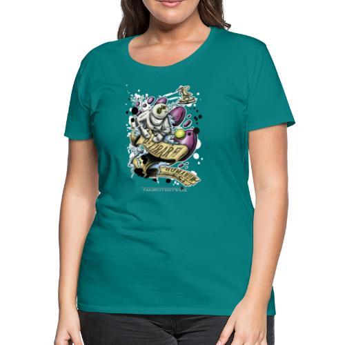 delirare humanum est - Women's Premium T-Shirt
